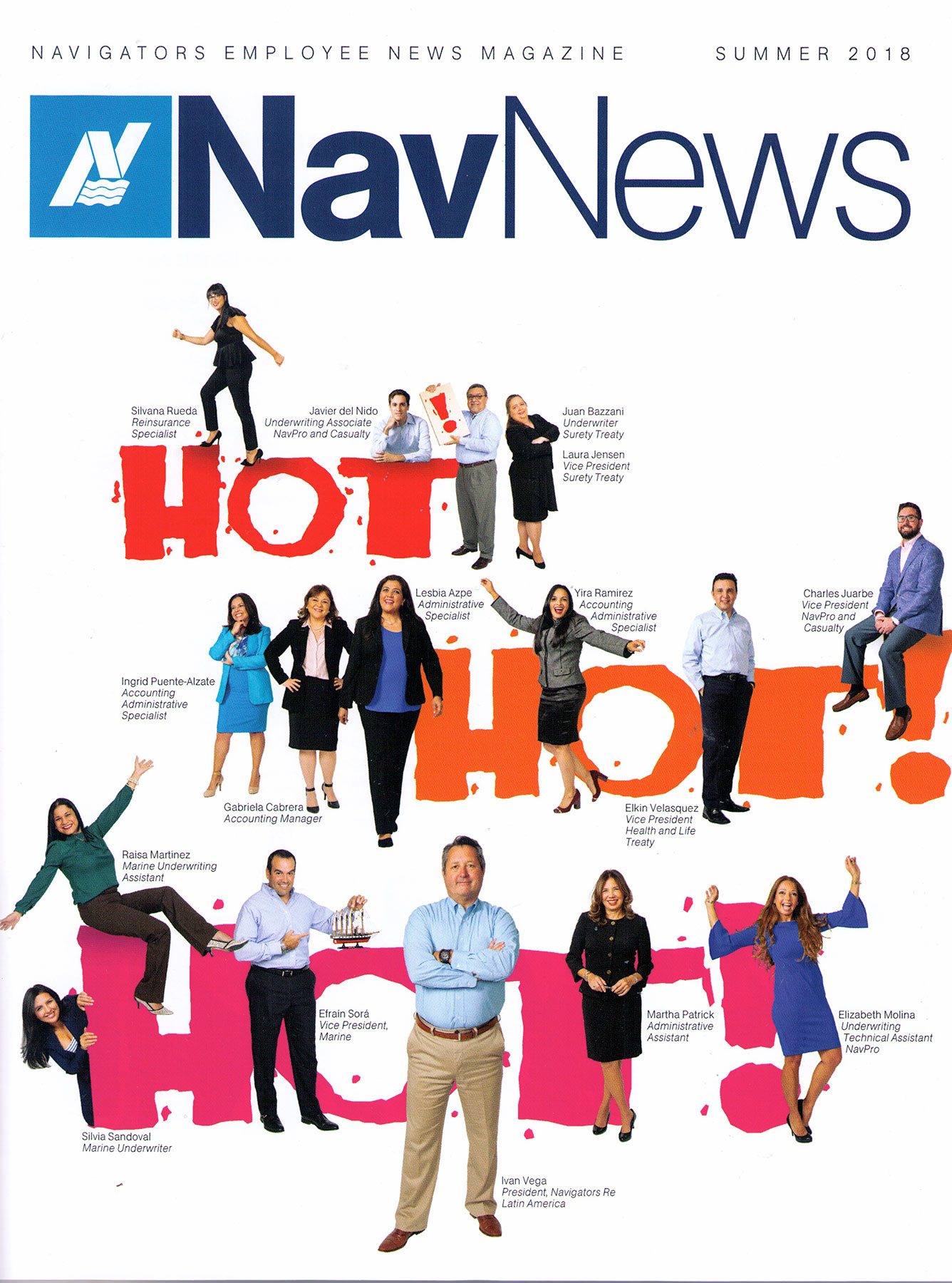 Corporate Editorial Photographer Jason Nuttle photographed the cover for NavNews